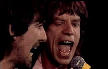 Beatles George Harrison Mick Jagger