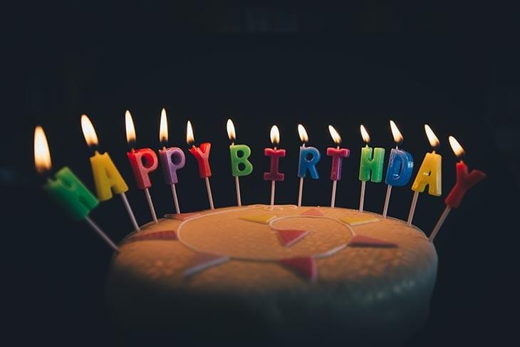 Para el cumpleaños de un familiar...