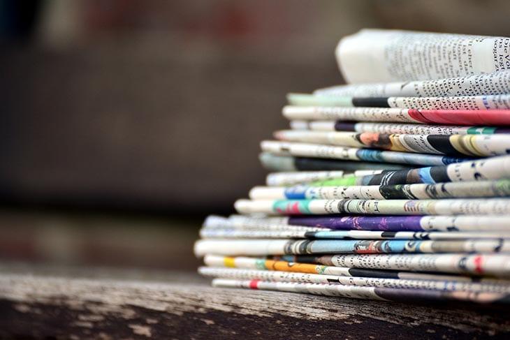 ¿Qué sección del diario leés primero?